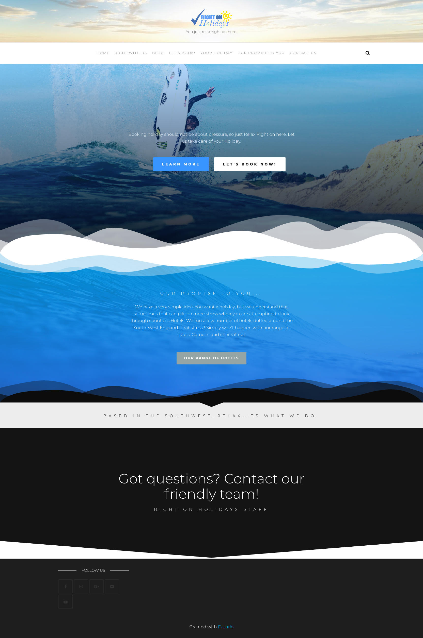 Surfing Company Websites