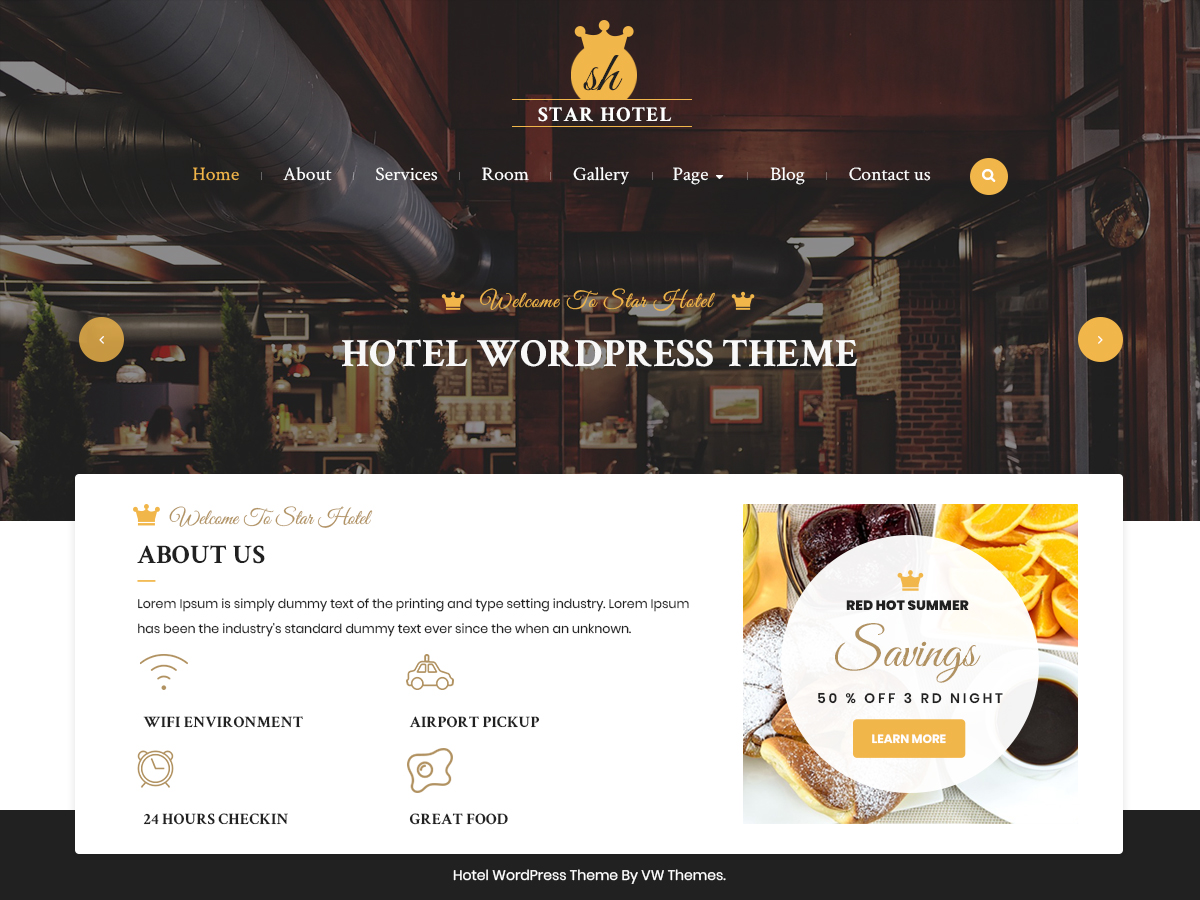 Websites for Hotels